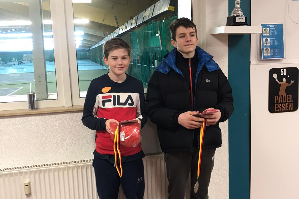 Artur Asatrian wins the double tournament in Essen